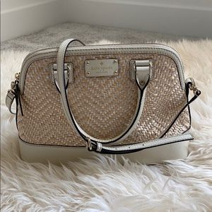 Kate Spade top handle and long strap Purse